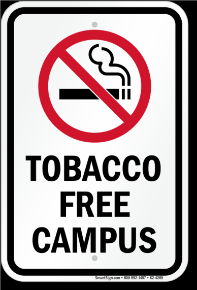 HCC's Tobacco Free Campus Policy
