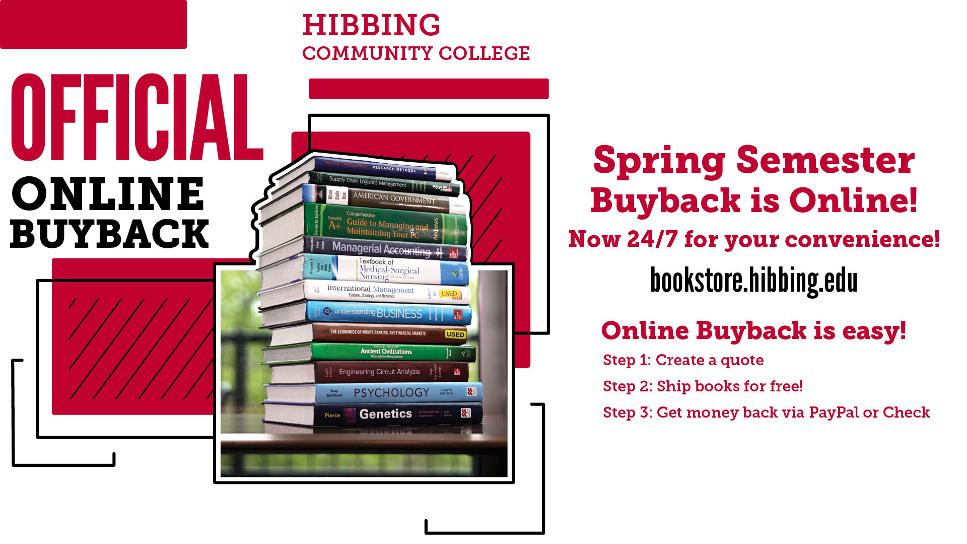 Book Buyback Spring 2020