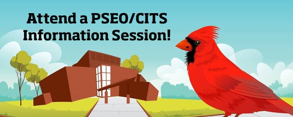 PSEO/CITS Information Sessions on March 2 or April 26 on Zoom
